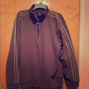 Adidas Jacket Quarter Zip Size L